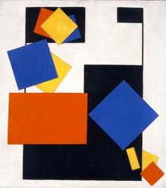 Vilmos Huszar Kompozycja - Siedząca kobieta, 1926