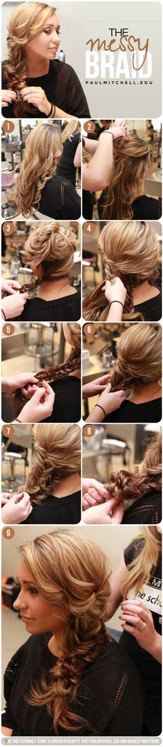 Pump up your skinny braid with this simple trick!