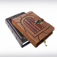 I'm offering a discount! Dream Library, Keeping A Journal, Leather Journal, Cool Items, Just Giving, Etsy Seller, Unique Jewelry, Handmade Gifts, Steam Punk