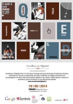 #eccellenze in #digitale allo @IED Florence #giovedì 19 alle 10.00  http://omaventiquaranta.blogspot.it/2014/06/eccellenze-in-digitale.html