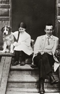 Rachmaninov and daughter