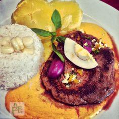 Lomo Fino en Salsa Huancaína