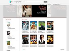 Google Play Movies now available in India
