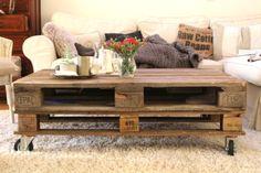 DIY coffee table- as easy as it looks