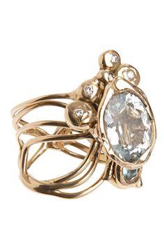 Lucifer Vir Honestus Primavera ring, $4,320, available at Barneys New York.