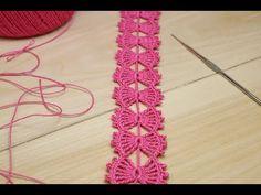 Crochet Doily Diagram, Crochet Edging Patterns, Crochet Flower Tutorial, Crochet Flowers, Knitting Stiches, Baby Hats Knitting, Crochet Stitches For Beginners, Crochet Videos, Crochet Gifts