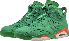 new concept ea622 a2e47 Air Jordan 6 Gatorade Green AJ5986-335 US12    Details can be found by