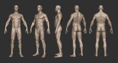 Sputch | Male Turn-Around Sculpt