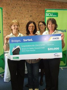 Last year our preferred financial planners Bridges, hosted a fantastic competition where one lucky #winner could win a luxury cruise worth up to $20,000! We are pleased to announce that our Katoomba member Cheryl was the lucky recipient of this great prize! Pictured: Cheryl with SCU Katoomba branch.