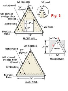 duck house plans instructions