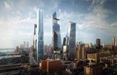 """4000 Wohnungen, ein Luxushotel, das Kulturzentrum """"The Shed"""", eine Schule und..."""