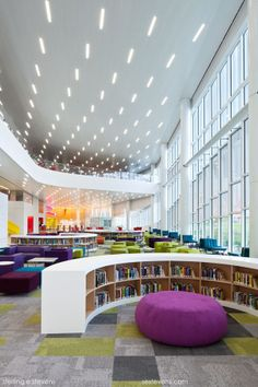 NCSU Hunt Library, Raleigh, North Carolina, USA  by Sterling E. Stevens on 500px