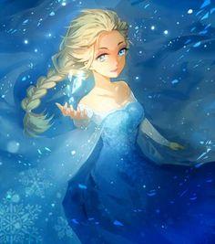 Beautiful Frozen Disney Art