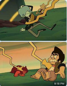 Steven Universe Movie, Universe Art, Funtime Foxy, Lapidot, Fantasy Characters, Fictional Characters, Cool Cartoons, Gemsona Maker, Cool Art