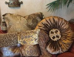 ACCENT PILLOWS: Order today, yours in about a week! Luxury pillows by Reilly-Chance Collection