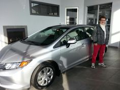 We know you'll love your 2012 Honda Civic LX JoAnne!