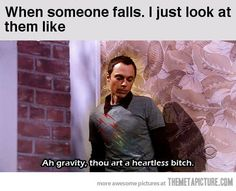 When someone falls…