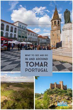 So much to see and do around Tomar, Portugal.   #tomarportugal #castlesoftheknightstemplar #conventodecristo #traveltipstomar #lifepart2