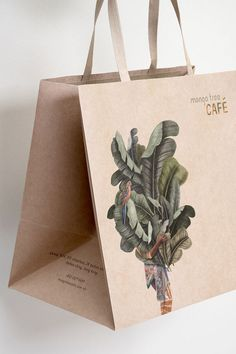 packaging mango tree cafe - A Work of Substance Turning Bathrooms Into In-Home Spas It may be the bu Logo Design, Layout Design, Brand Identity Design, Branding Design, Design Design, Design Ideas, Cafe Branding, Cafe Logo, Identity Branding