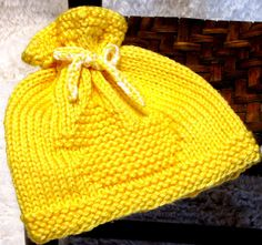 Knitting Pattern  Newborn  RUBBER DUCK  EZ Knit by ezcareknits, $4.00