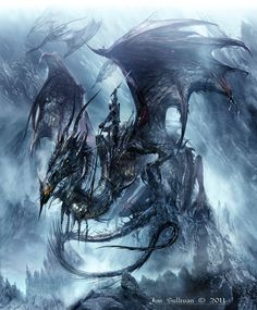 Jon Sullivan ~ Dragon Artwork
