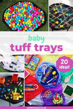 Baby Room Activities, 9 Month Old Baby Activities, Eyfs Activities, Infant Activities, Baby Activites, Indoor Activities, Family Activities, Tuff Spot, Baby Sensory Play
