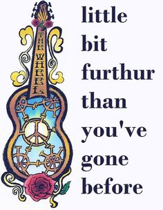 ☮ American Hippie Psychedelic Art Music Lyrics Quote ~ Grateful Dead