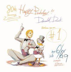 ディズニーキャラを擬人化するとこうなる!? 日本人が描いた「もしもディズニーキャラクターが人間になったら」