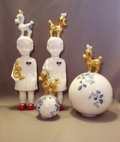 Lammers en Lammers, De zussen Lammers ontwerpen mooie porseleinen beeldjes. We hebben verschillende in onze collectie opgenomen. Mooi in Sittard