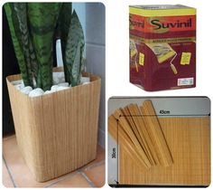 Make with sticks Diy Home Crafts, Crafts To Sell, Diy Home Decor, Diy Storage Boxes, Diy Plant Stand, Ideias Diy, Cardboard Crafts, Recycled Crafts, Vases Decor