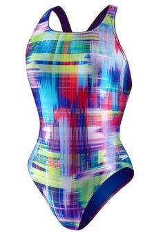 Falling Hues Pulse Back - ProLT#8482; - SPEEDO  - Speedo USA Swimwear