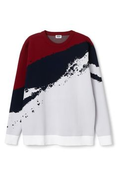 Alf Jaquard Knit Sweater