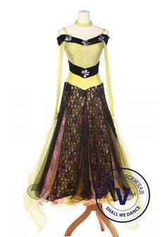 Standard Ballroom Competition Dress A5148