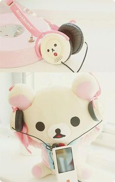 (12) Korilakkuma | Kawaii | Pinterest | Headphones, Kawaii and I Wish