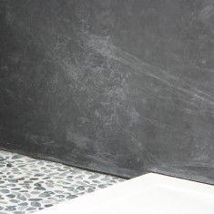 Betonlook badkamer - uw wanden en muur van betonlook | MVH Stucadoorsbedrijf