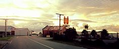 A different evening view of Wanganui, New Zealand, lifiton Street. Photo Kylie Wetherall.
