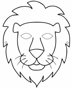 Animal Masks For Kids, Mask For Kids, Animal Mask Templates, Transportation Theme Preschool, Lion Craft, Diy And Crafts, Crafts For Kids, Christian Preschool, Printable Masks