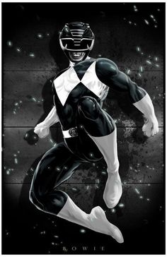Black Ranger by Damon Bowie                                                                                                                                                                                 Más