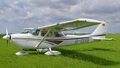 Reims-Cessna FR172 F Reims Rocket Aircraft Reg: D-ELVD