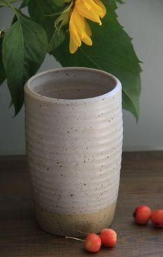 Landhausvase+von+Keramik++vom+Rhinkanal+auf+DaWanda.com