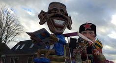 Terugkijken: Carnaval in Zwaag - NH | Noord-Holland 2016 De Schuimkragen : Terwijl Obama zich ontspant....
