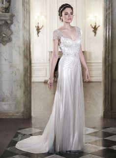 20 Breathtaking Art Deco Wedding Dresses