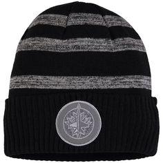 3490fc914e5 New York Islanders Fanatics Branded Reflective Sneaker Cuffed Knit Hat –  Black Gray. NHL Caps   Hats