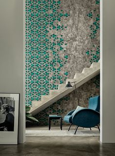 Wall & Decò - Carte da parati per l'arredo contemporaneo ... Can you imagine this is wallpaper!? Amazing designs. Click the link and check out the very contemporary offerings. I love what they have on offer. It changes my mind about wallpaper in a contemporary context!