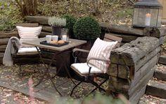 Outdoor - Designed by Norwegian Interior Architect firm Metropolis arkitektur & design - www.no Outdoor Furniture Sets, Outdoor Decor, Interior, Projects, Design, Home Decor, Earth, Log Projects, Decoration Home