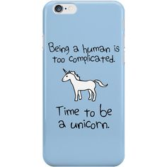 time to be unicorn iphone case cover apple 5 5s 6 6s 7 (£9.14) ❤ liked on Polyvore featuring accessories, tech accessories, phone cases, phone, iphone sleeve case, unicorn iphone case and iphone cover case