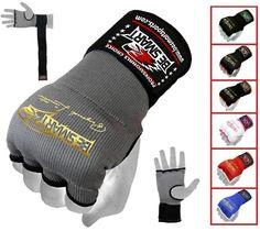 Hand Wraps Inner Boxing Gloves Bandages Muay Thai MMA Punching Bag Kick Pair #BeSmart