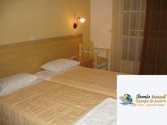 Hotel Omiros , #Gouvia, #Corfu, #Grecia Creta, Bed, Furniture, Home Decor, Decoration Home, Stream Bed, Room Decor, Home Furnishings, Beds