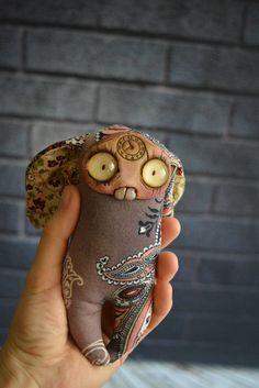 Anaya. OOAK. Halloween doll. Handmade toy.