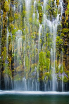 Mossbrae Falls (by Lukas Wenger) via woodendreams